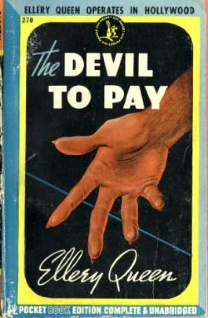 Pocket Books - The Devil To Pay - Ellery Queen