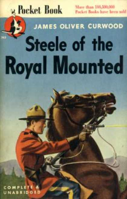 Pocket Books - Steele of the Royal Mounted - James Oliver Curwood