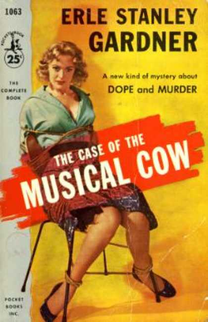 Pocket Books - The Case of the Musical Cow