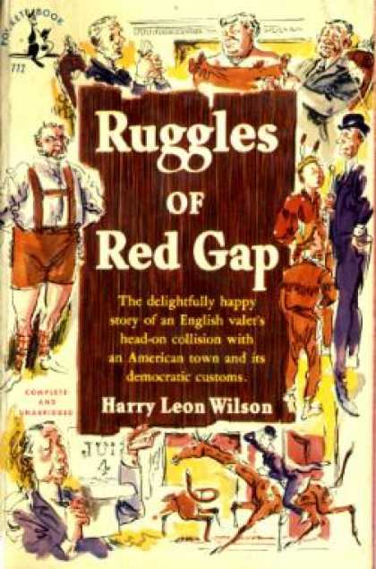 Pocket Books - Ruggles of Red Gap - Harry Leon Wilson