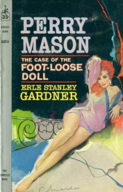Pocket Books - The Case of the Foot-loose Doll - Erle Stanley Gardner