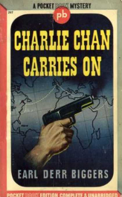 Pocket Books - Charlie Chan Carries On