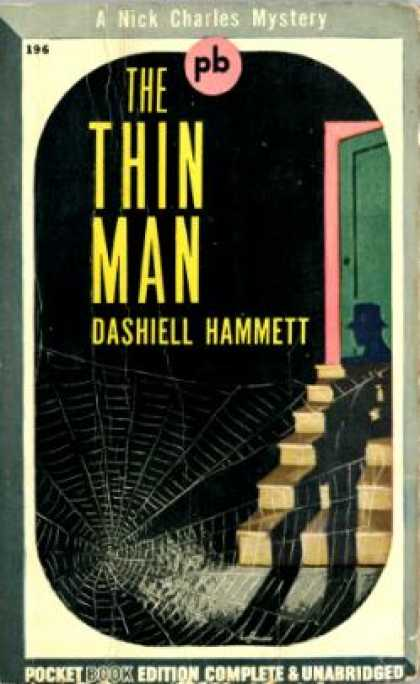 Pocket Books - The Thin Man - Dashiell Hammett