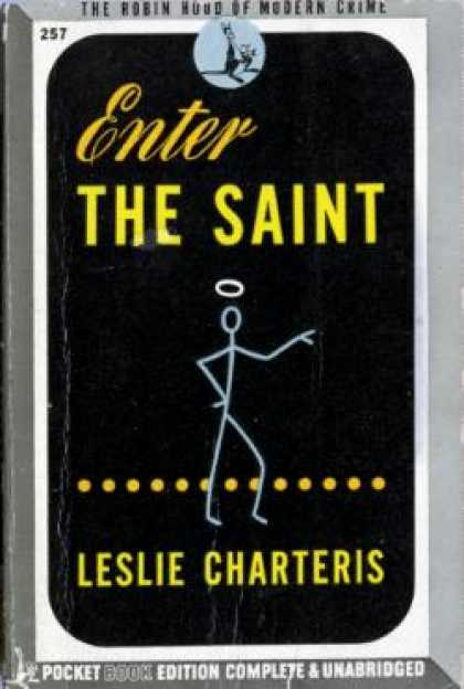 Pocket Books - Enter the Saint - Leslie Charteris
