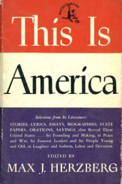 Pocket Books - This Is America - Max J. Herzberg