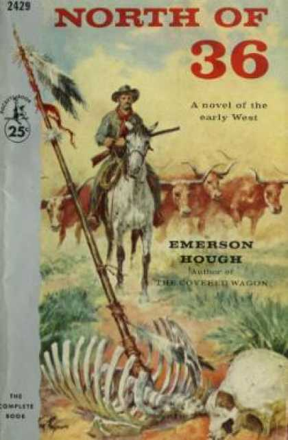 Pocket Books - North of 36 - Emerson Hough