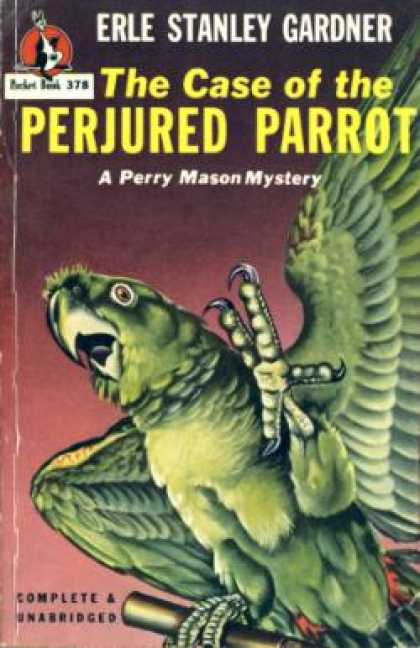 Pocket Books - The Case of the Perjured Parrot. a Perry Mason Mystery - Earl Stanley Gardner