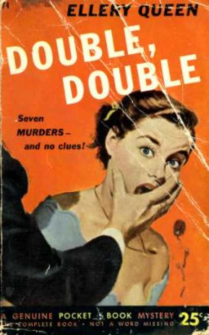 Pocket Books - Double, Double: A New Novel of Wrightsville - Ellery Queen