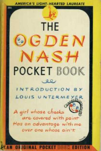 Pocket Books - The Ogden Nash Pockect Book - Louis Untermeyer