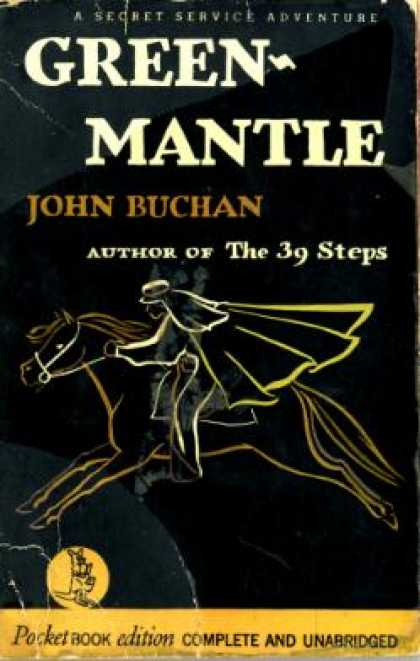 Pocket Books - Green-Mantle - John Buchan