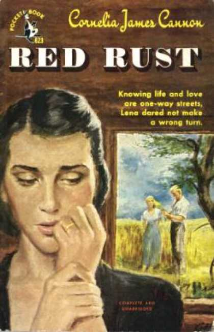 Pocket Books - Red Rust - Cornelia James Cannon