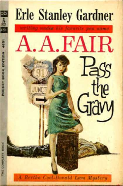 Pocket Books - Pass the Gravy - Erle Stanley Gardner - A.a. Fair