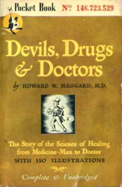 Pocket Books - Devils, Drugs & Doctors - Howard W. Haggard