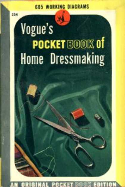 Pocket Books - Vogue's Pocket Book of Home Dressmaking - Anonymous