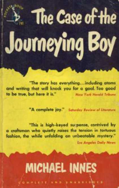 Pocket Books - The Case of the Journeying Boy - Michael Innes