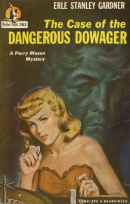 Pocket Books - The Case of the Dangerous Dowager: a Perry Mason Mystery - Erle Stanley Gardner