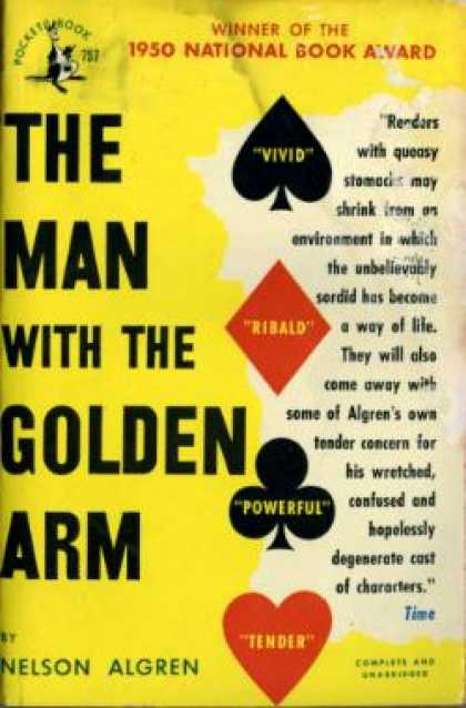Pocket Books - The Man With the Golden Arm - Nelson Algren