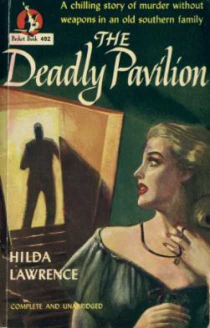 Pocket Books - The Deadly Pavilion - Hilda Lawrence