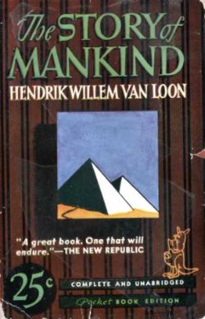 Pocket Books - The Story of Mankind - Hendrik Willem Van Loon