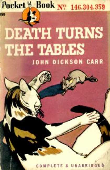 Pocket Books - Death Turns the Tables - John Dickson Carr