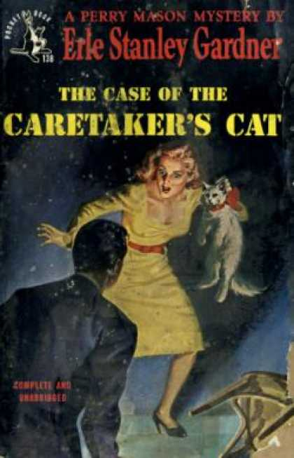 Pocket Books - The Case of the Caretaker's Cat