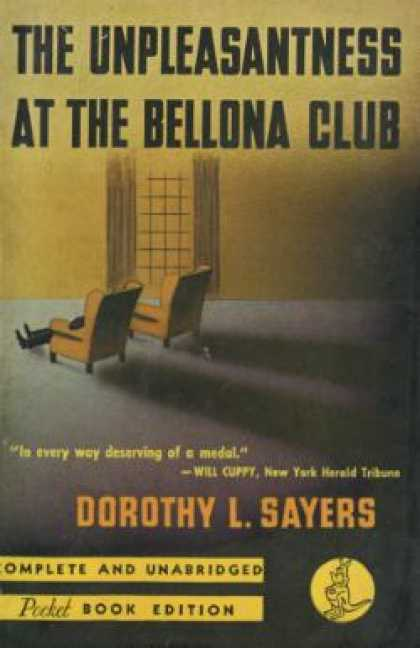 Pocket Books - The Unpleasantness at the Bellona Club - Dorothy L. Sayers