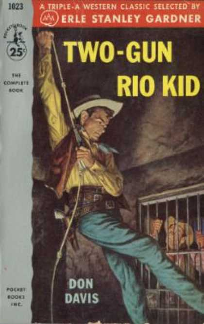 Pocket Books - Two-gun Rio Kid - Don Davis