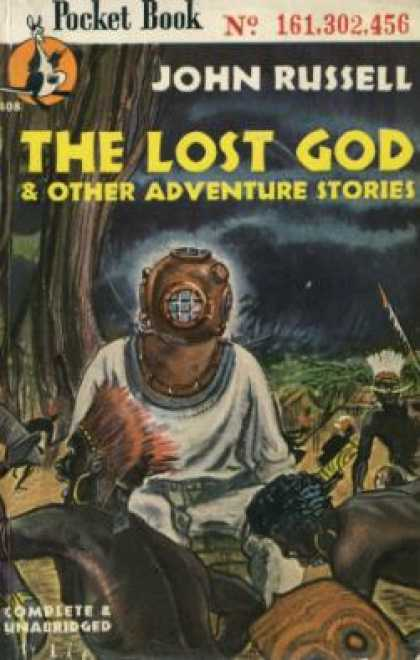 Pocket Books - The Lost God and Other Adventure Stories - John Russell