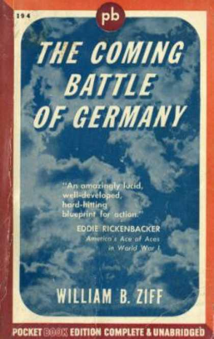 Pocket Books - The Coming Battle of Germany - William Bernard Ziff