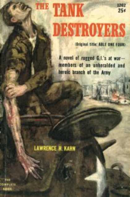 Pocket Books - The Tank Destroyers - Lawrence H. Kahn