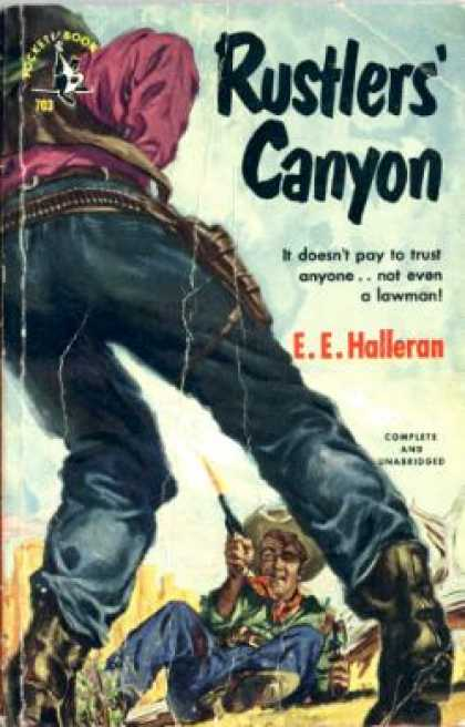 Pocket Books - Rustlers' Canyon - E.e. Halleran