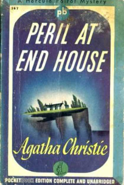 Pocket Books - Peril at End House - Agatha Christie