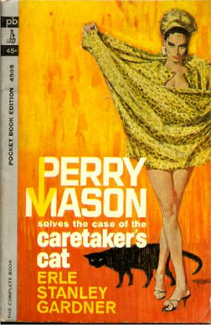 Pocket Books - Perrry Mason Solves the Case of the Caretaker's Cat - Erle Stanley Gardner