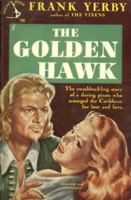 Pocket Books - The Golden Hawk - Frank Yerby