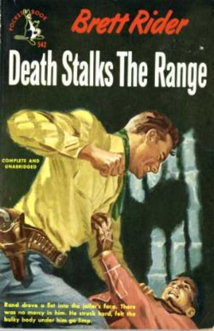 Pocket Books - Death Stalks the Range - Brett Rider