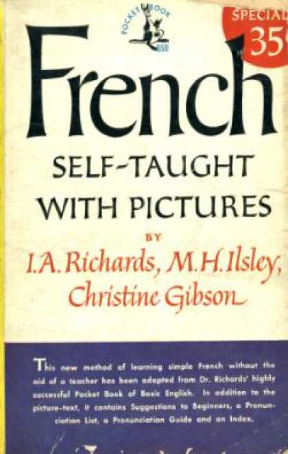 Pocket Books - French Self-taught With Pictures - I.a.; Ilsley, M.h.; Gibson, Christine Richard