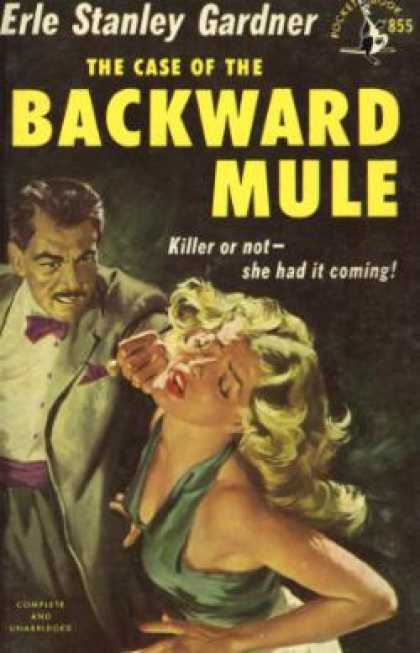 Pocket Books - The Case of the Backward Mule - Erle Stanley Gardner