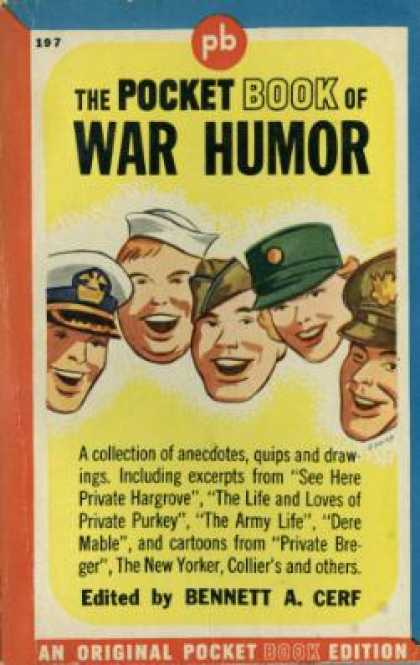 Pocket Books - The Pocket Book of War Humor - Bennett A. Cerf