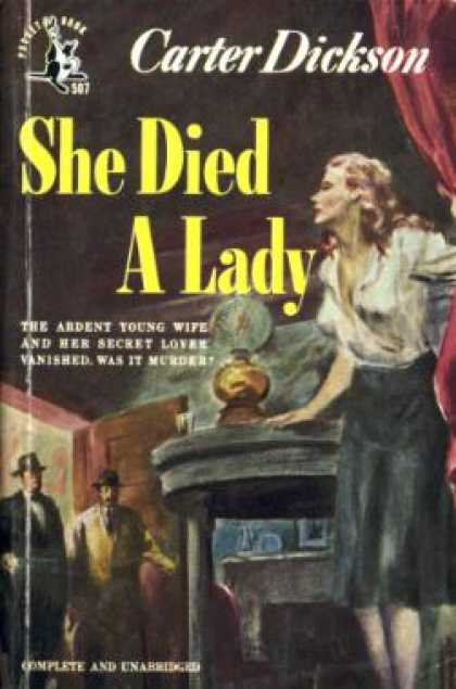 Pocket Books - She Died a Lady
