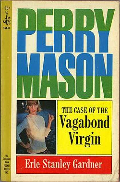 Pocket Books - The Case of the Vagabond Virgin