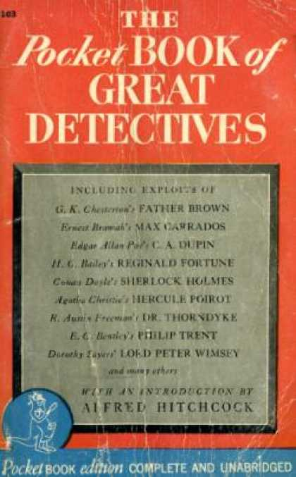 Pocket Books - The Pocket Book of Great Detectives: Seventeen American and English Masterpieces