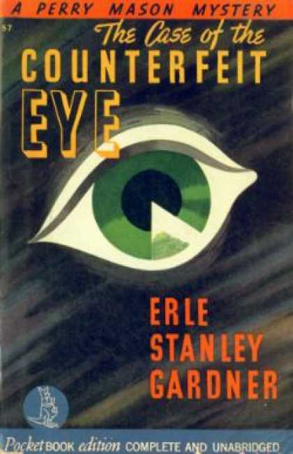 Pocket Books - The Case of the Counterfeit Eye - Erle Stanley Gardner