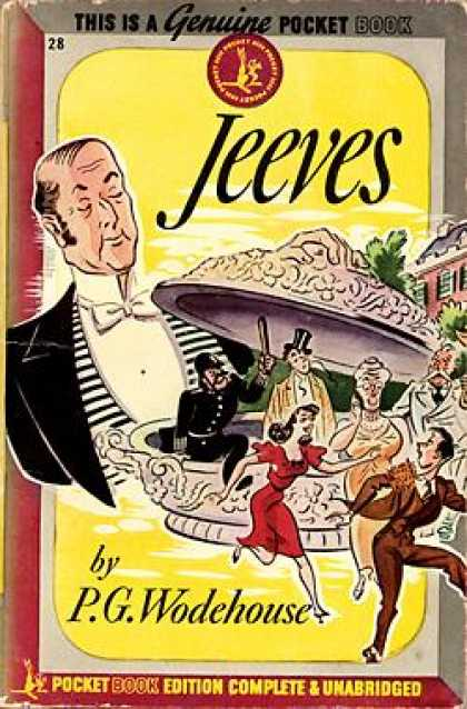 Pocket Books - Jeeves - P. G Wodehouse