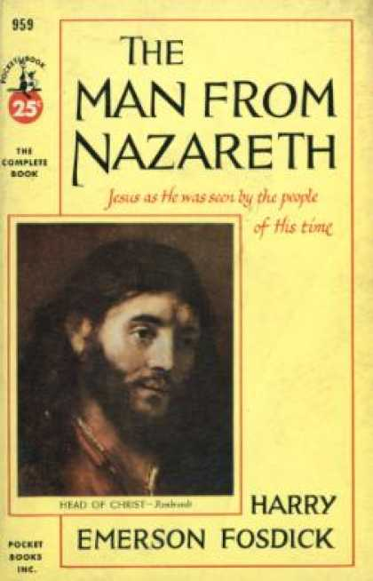 Pocket Books - The Man From Nazareth: Jesus As He Was Seen By the People of His Time - Harry Em