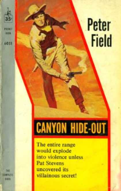 Pocket Books - Canyon Hide Out - Peter Field