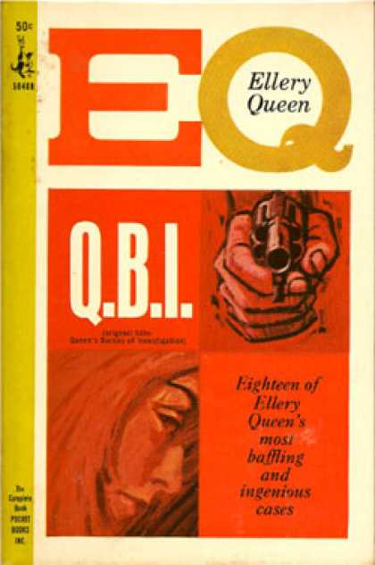 Pocket Books - Q.b. I.: Eighteen of Ellery Queen's Most Baffling and Ingenious Cases - Ellery Q