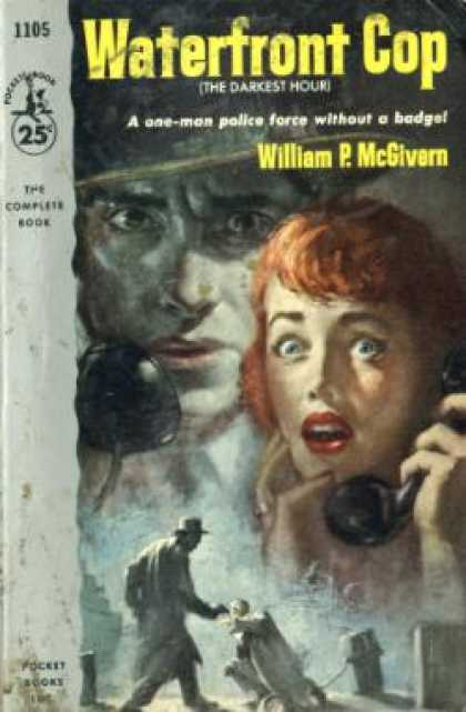 Pocket Books - Waterfront cop - William P. McGivern