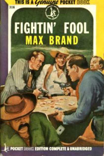 Pocket Books - Fightin Fool - Max Brand
