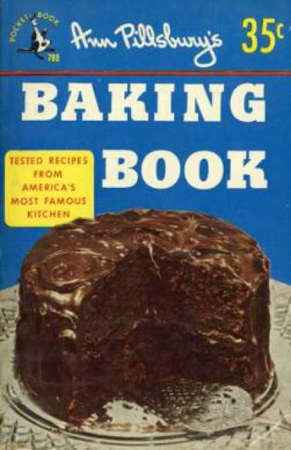 Pocket Books - Ann Pillsbury's Baking Book - Ann Pillsbury