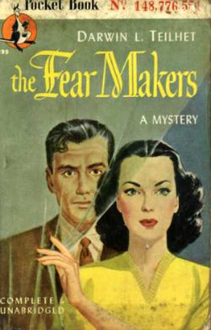 Pocket Books - The Fear Makers - Darwin L. Teilhet